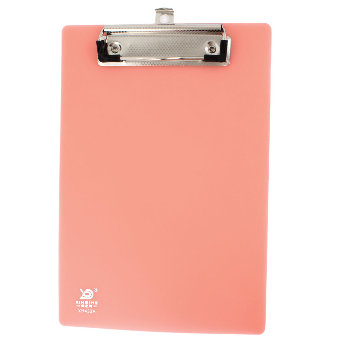 School Plastic A5 Size Document Test Paper Clip Clamp Board Holder Pink