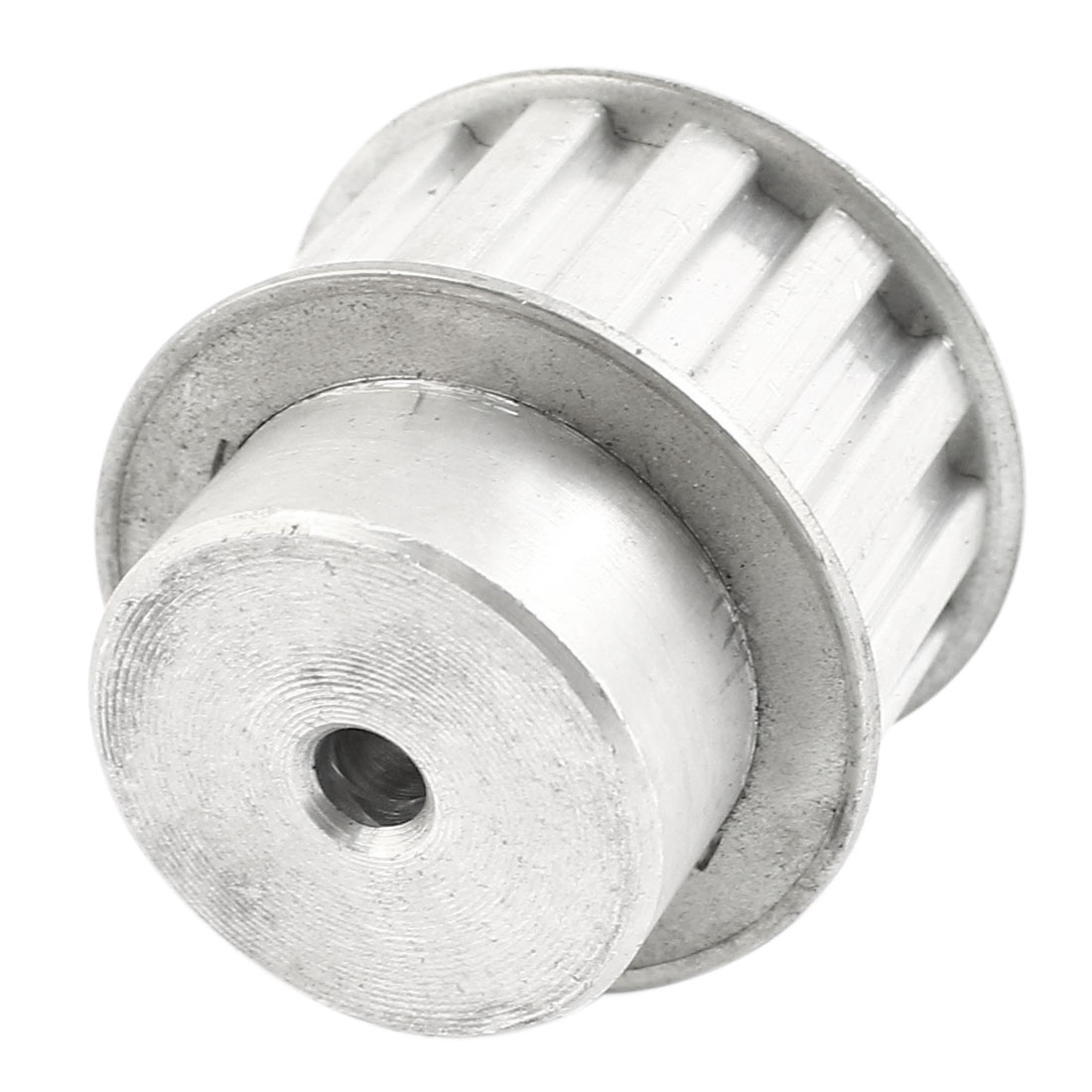 Aluminum Alloy L14 Type 14 Teeth 6mm Bore Dia Double Flanged Timing Pulley