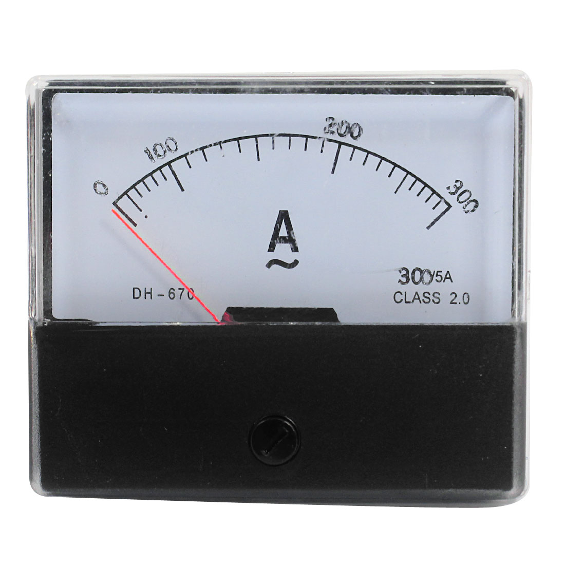 AC 0-300A Fine Tuning Dial Alternating Current Test Panel Meter Ammeter