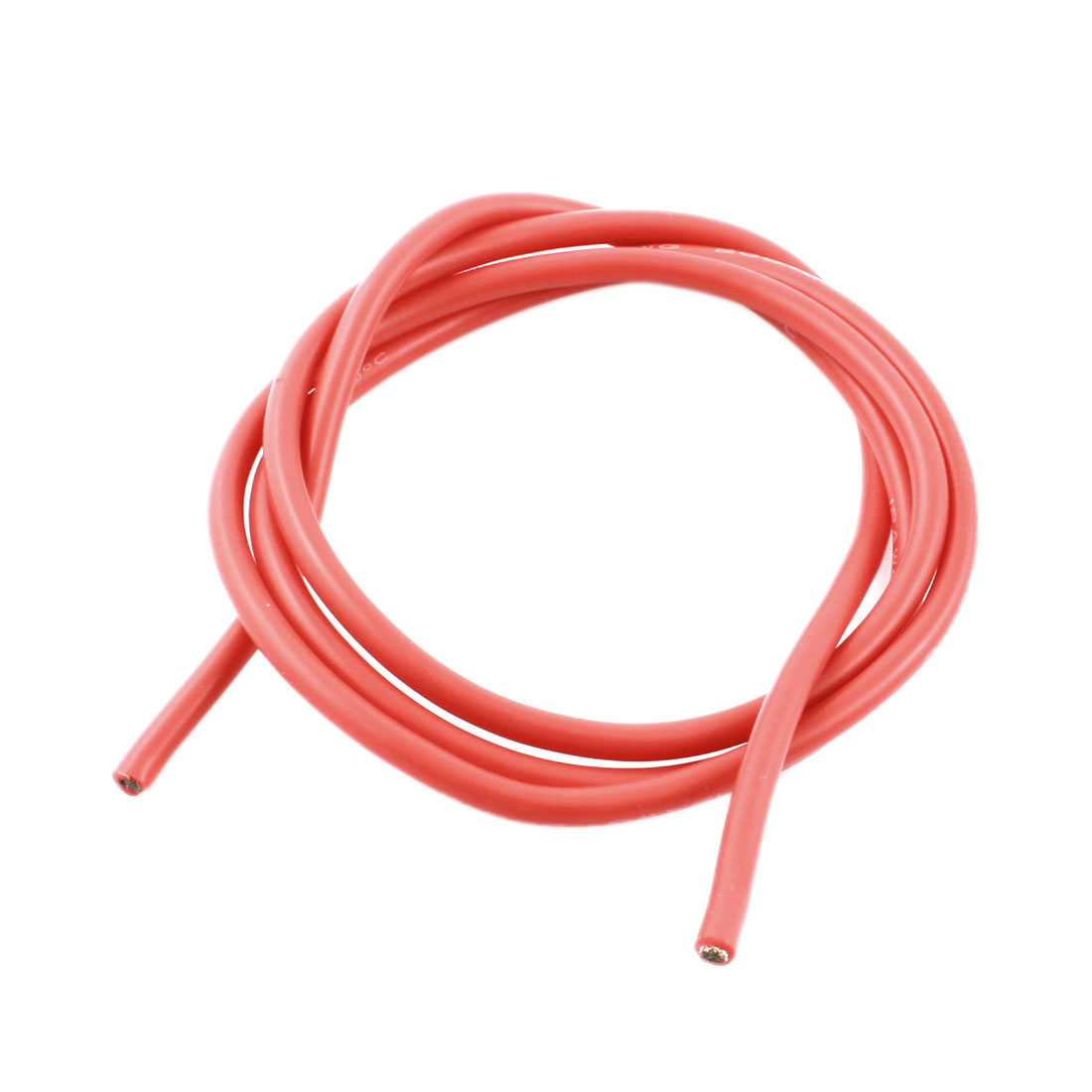 1 Meter/3.3ft 12AWG 200C Flexible Heat Resistance Silicone High Temp Wire Cable Red