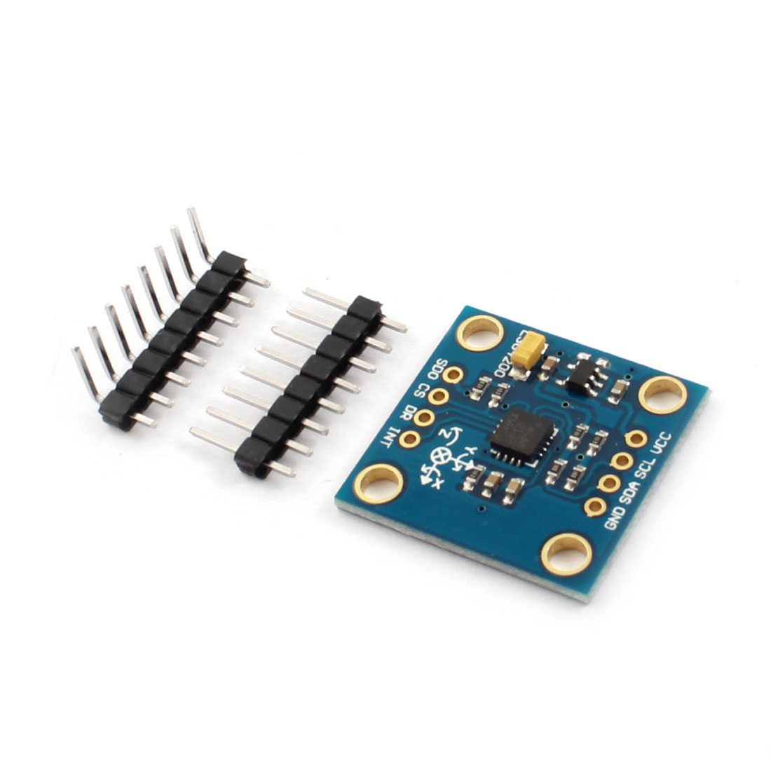 L3G4200D Chip IIC/SPI Double 3-Axis Gyroscope + Accelerometer Module Sensor for MCU