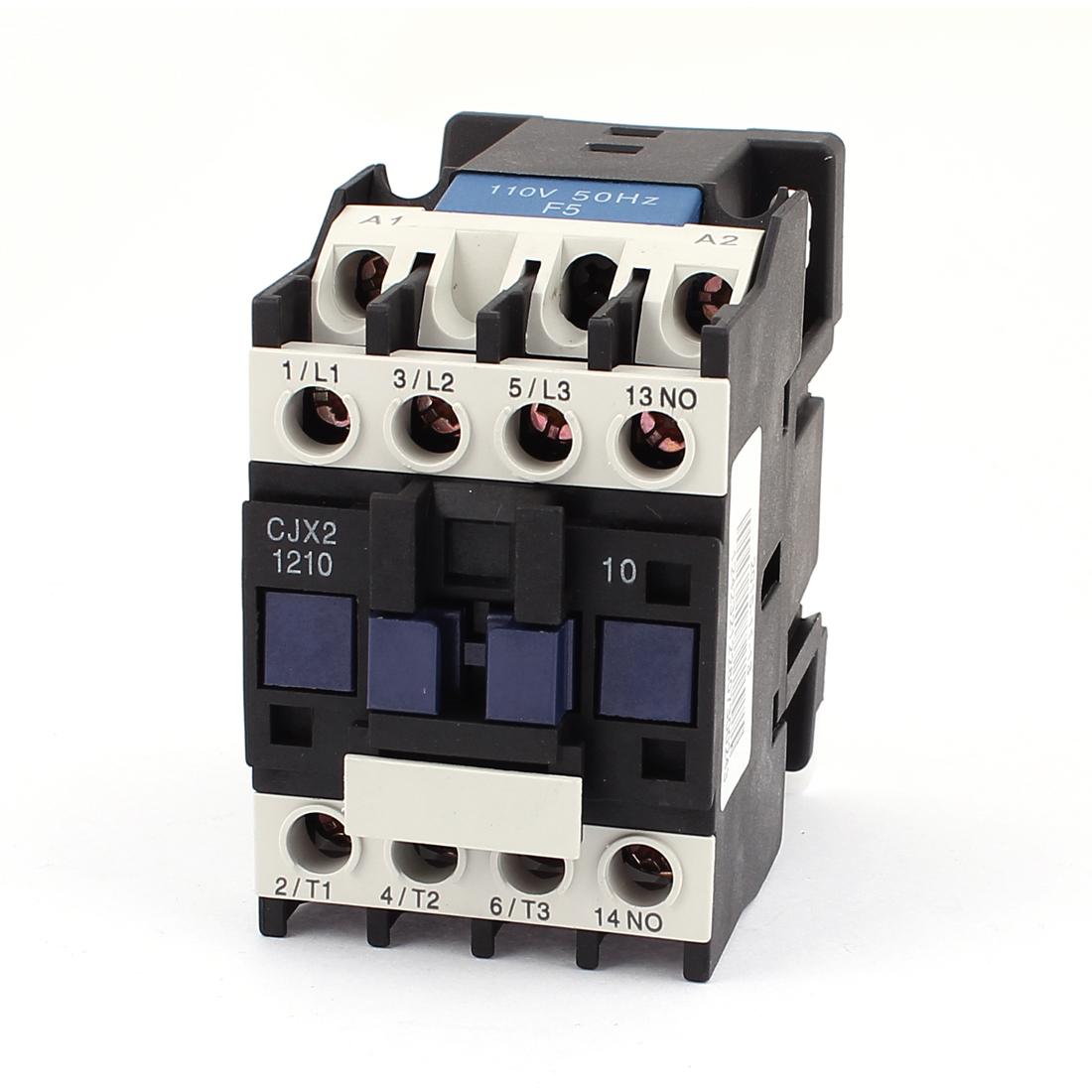 CJX2-12 Air Condition General Purpose 110-120V/110-130V Coil 20A 3P+NO AC Contactor