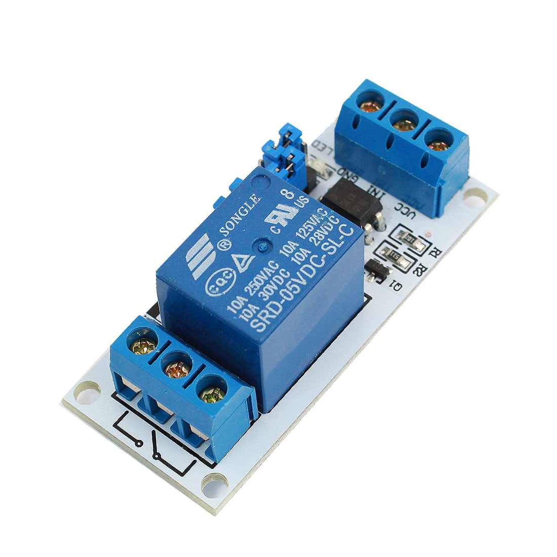 5V 1-Channel Relay Module Borad for PIC AVR ARM Electronic