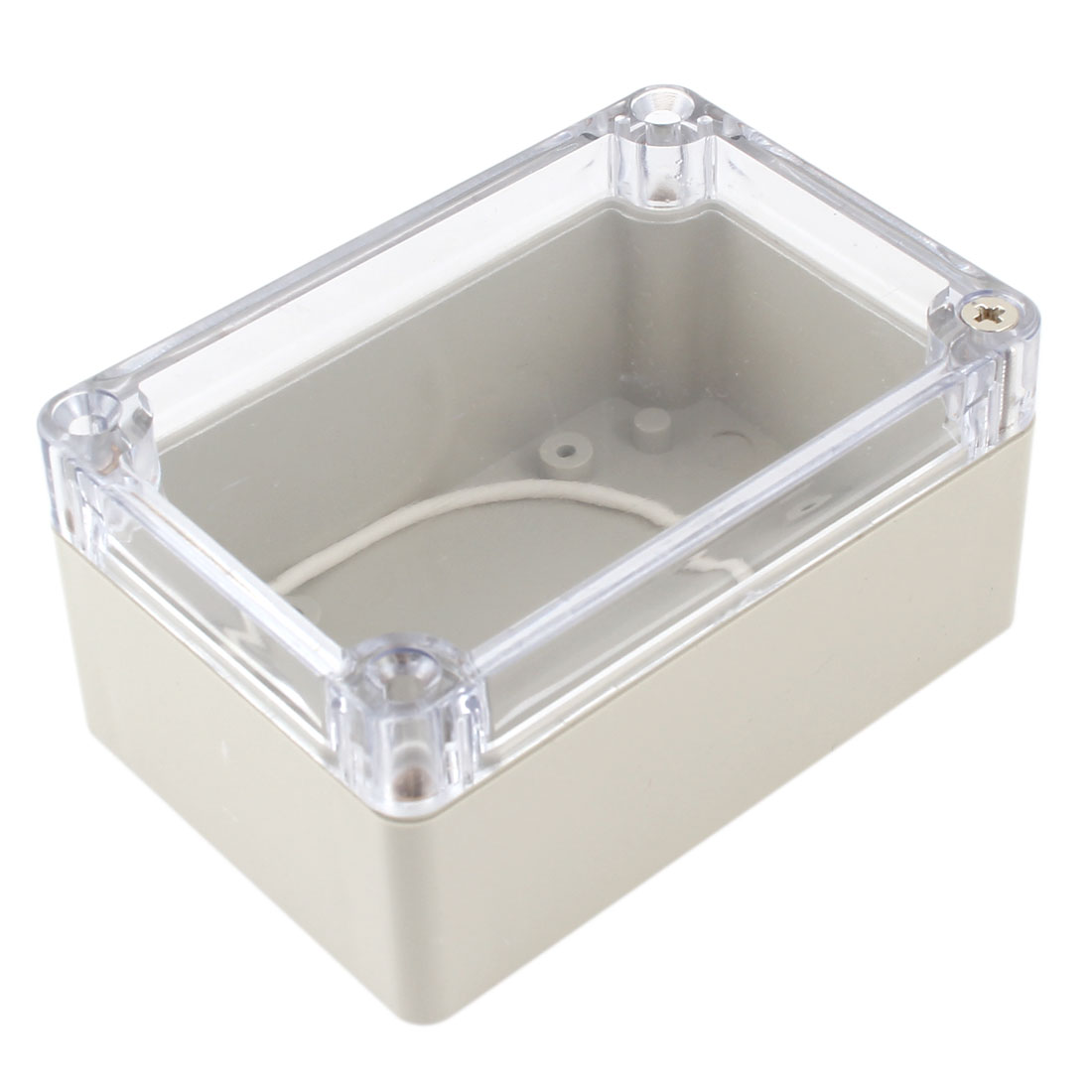 100mm x 68mm x 50mm Waterproof Plastic Enclosure Case DIY Junction Box