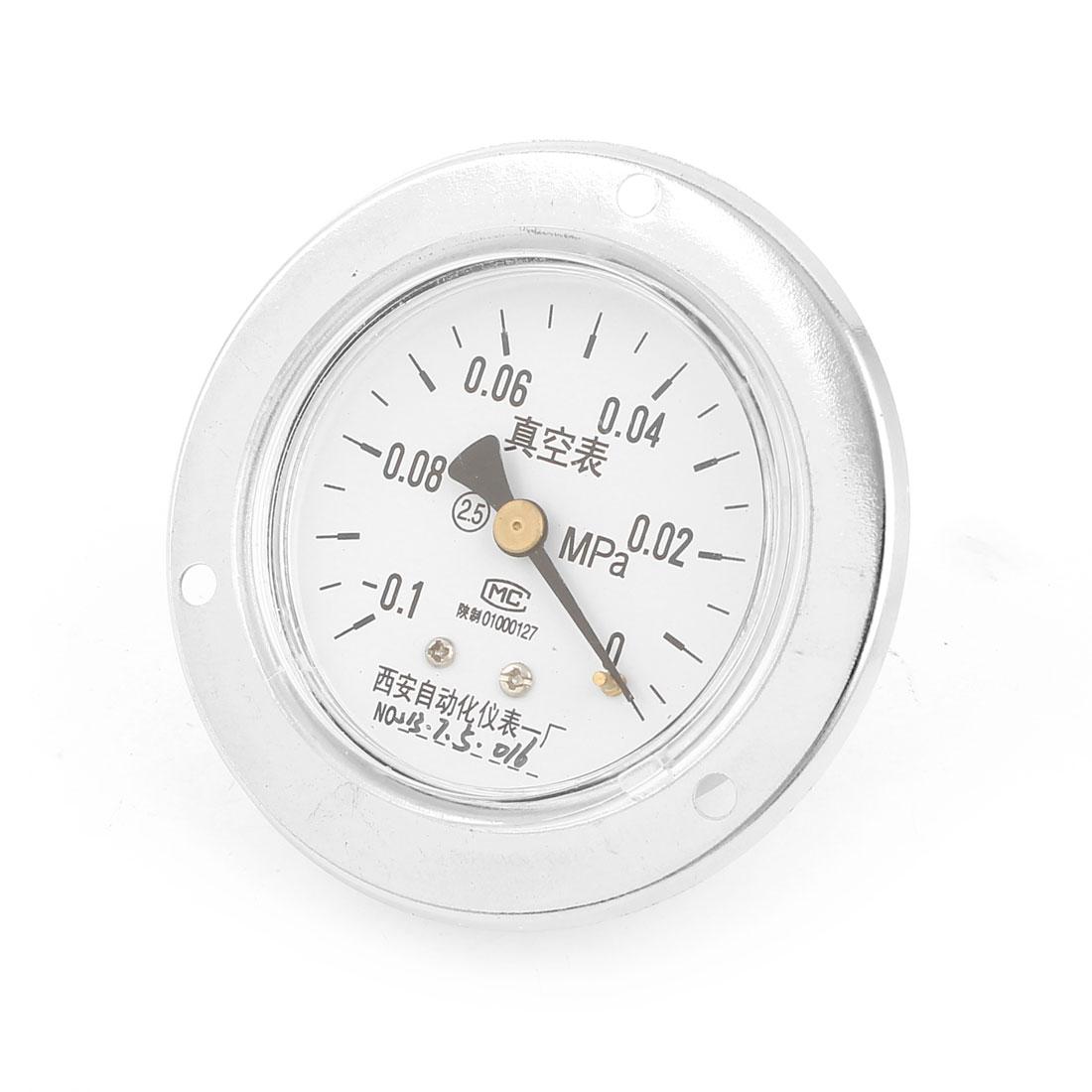 -0.1-0MPa Universal Mechanical Glow Oil Gas Air Vacuum Pressure Meter Gauge 60mm