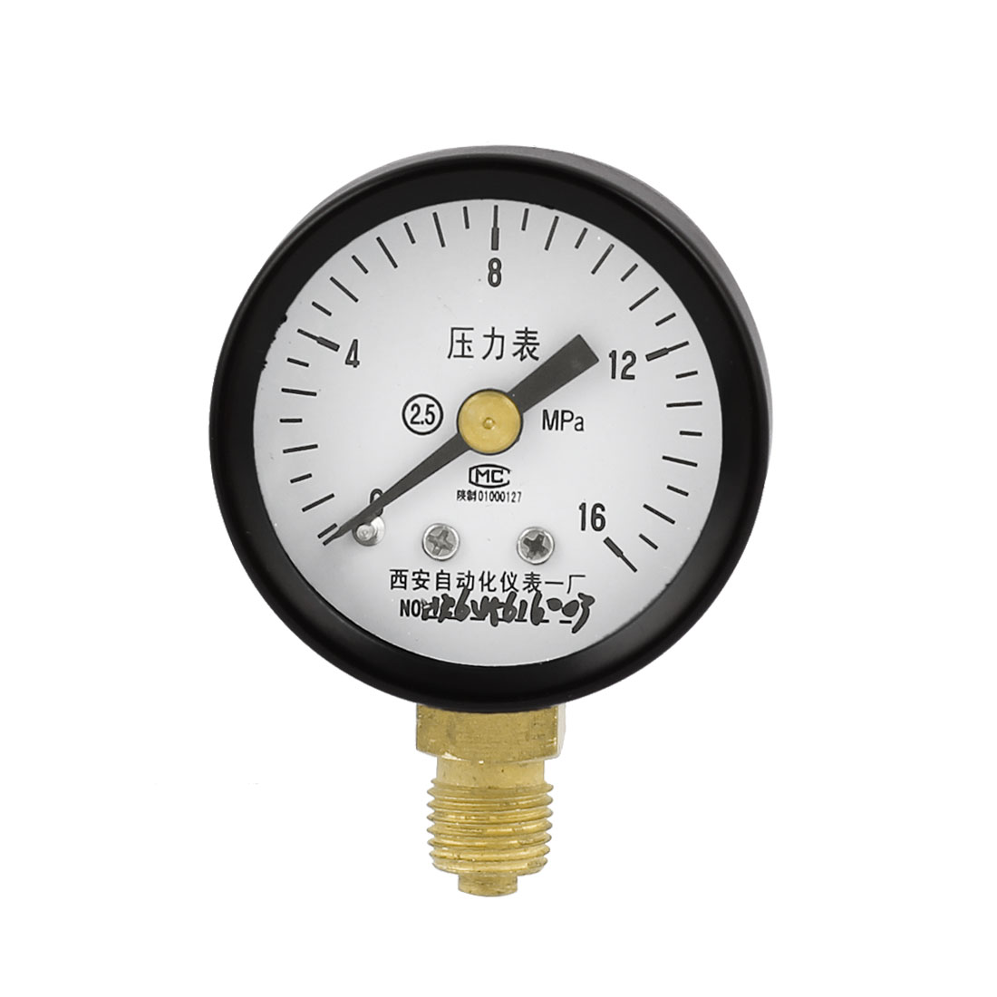 2.5 Accuracy 0-16MPa Oil Gas Air Vacuum Pressure Meter Gauge 40mm