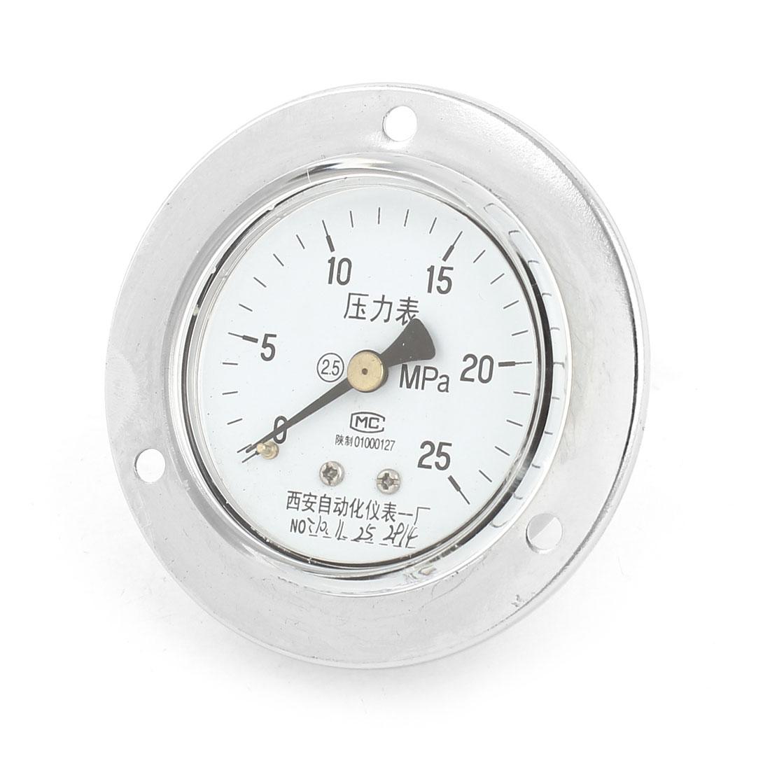 13mm Male Thread Vertical Water Air Vacuum Pressure Meter Gauge 0-25MPa 60mm
