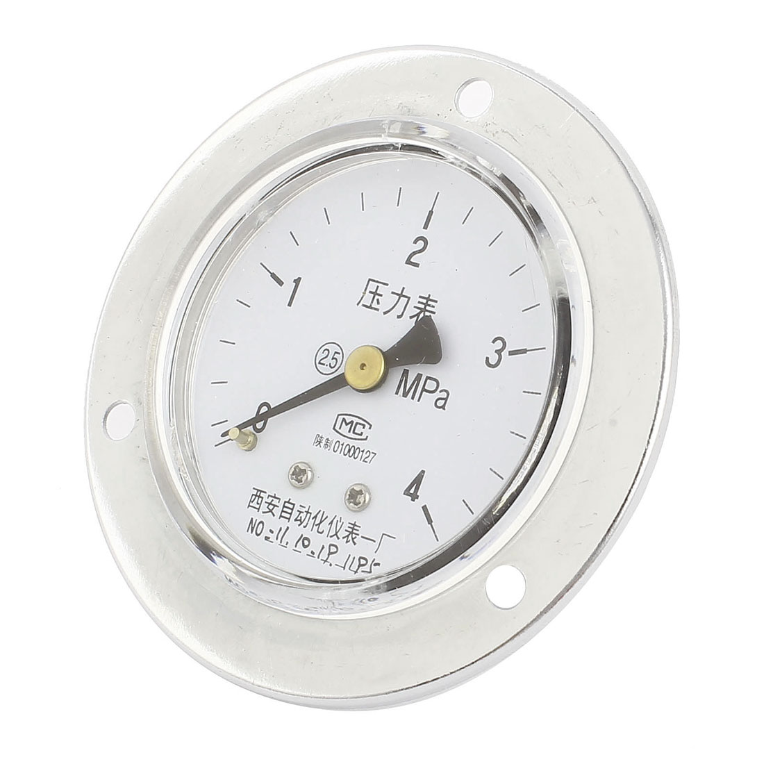 13mm Male Thread Universal Water Air Vacuum Pressure Meter Gauge 0-4MPa 60mm