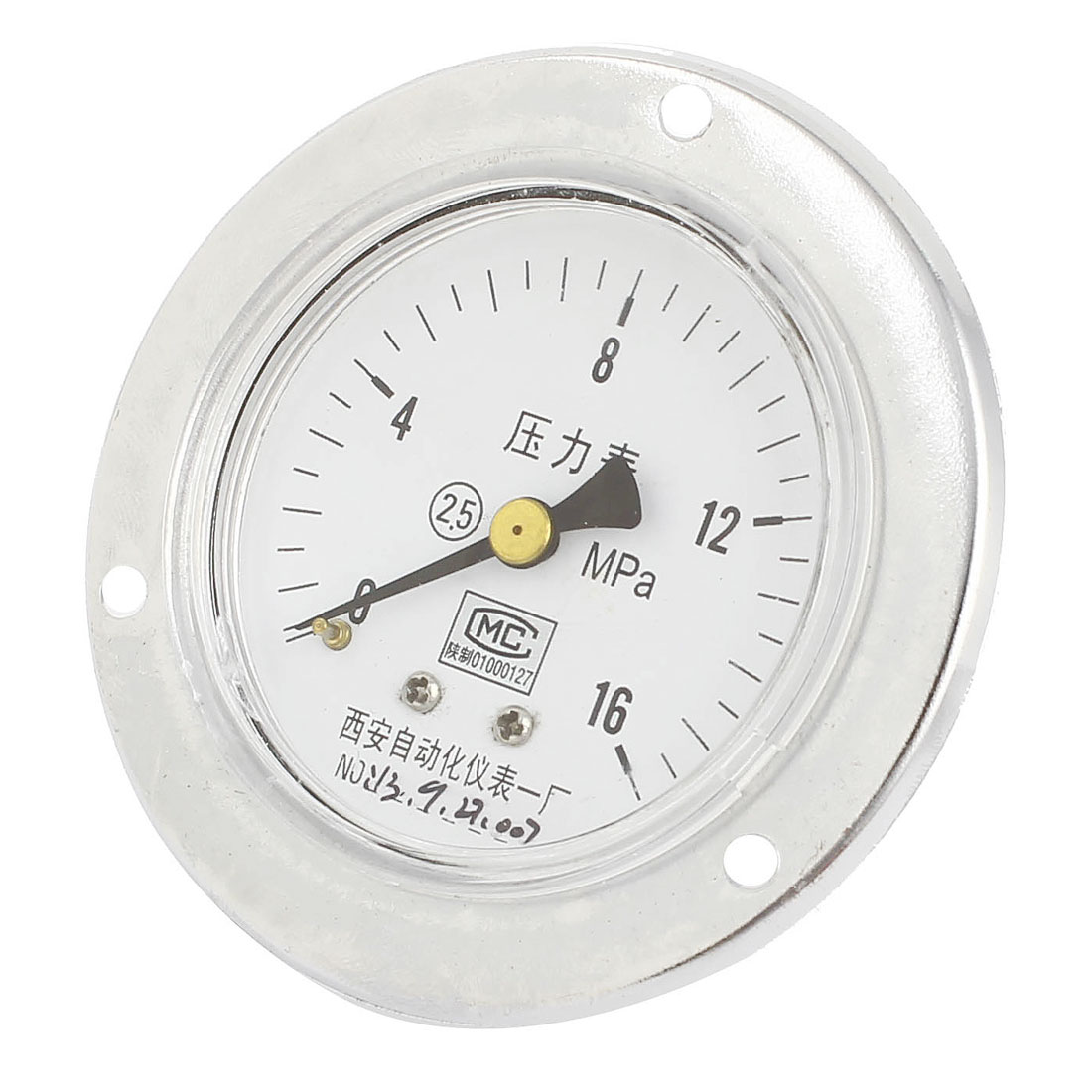 13mm Male Thread Water Air Pneumatic Vacuum Pressure Meter Gauge 0-16MPa 60mm