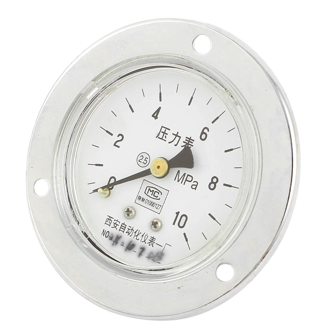 13mm Male Thread Vertical Water Air Vacuum Pressure Meter Gauge 0-10MPa 60mm