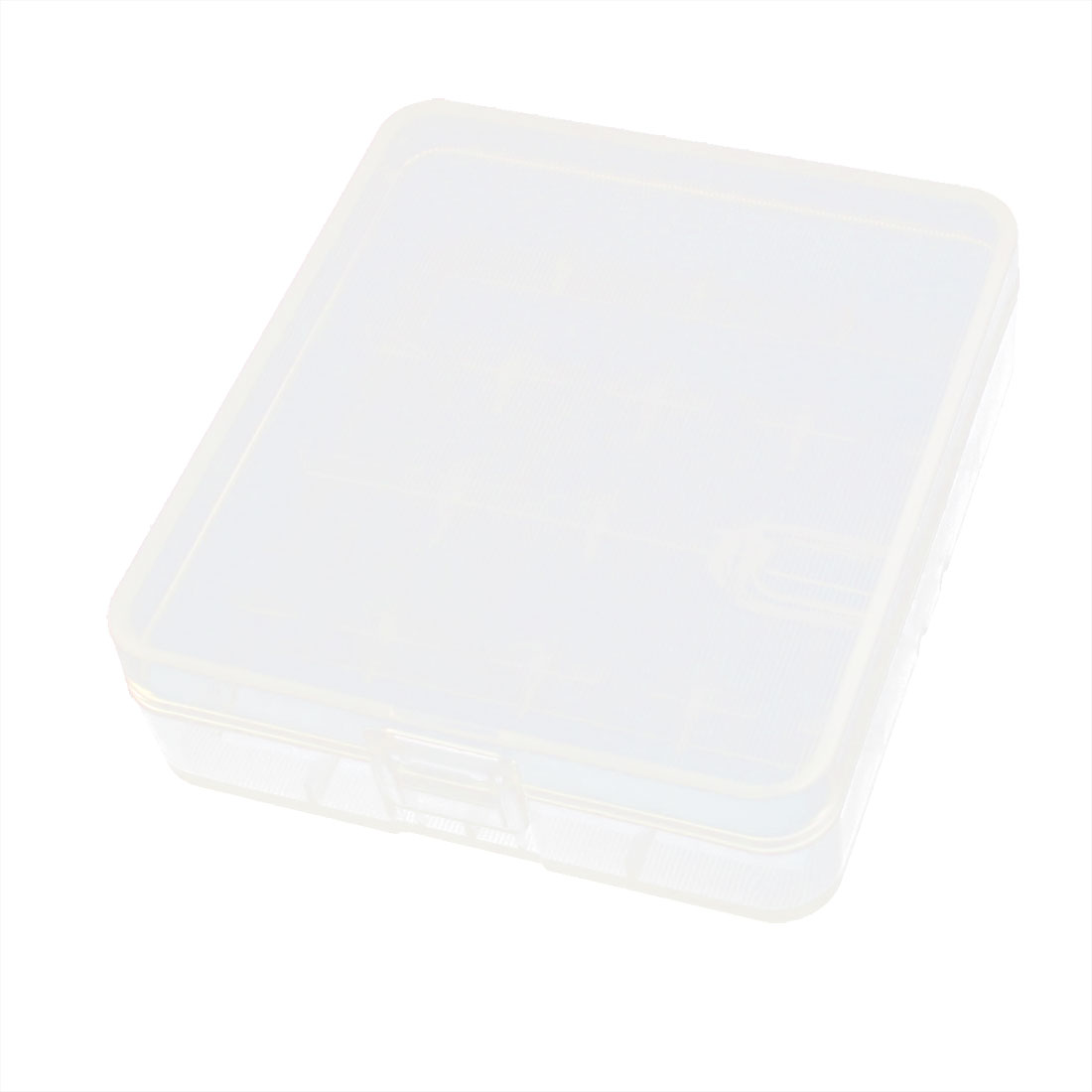 Clear Plastic 16 Compartment Jewelry Electronic Component Storage Box Container