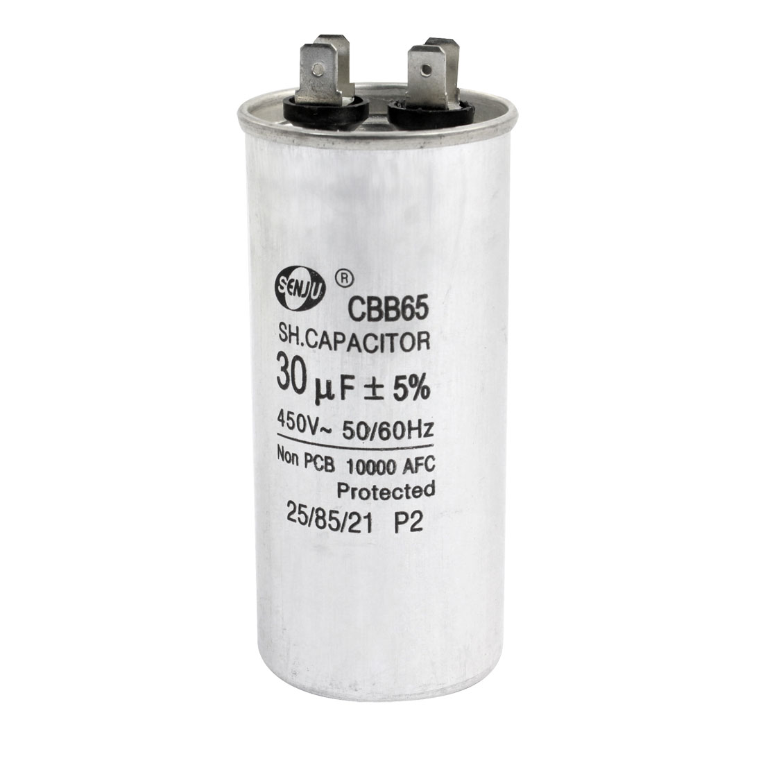 CBB65 AC 450V 30uF 50/60Hz 4 Pin Motor Run Capacitor for Air Conditioner