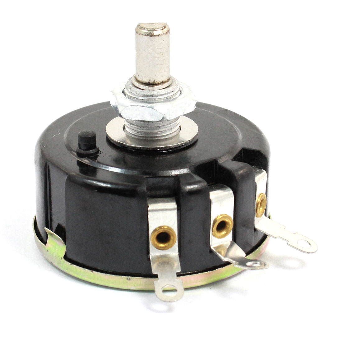 2.2K Ohm 3W Watt Single Turn 3 Terminals Rotary Wire Wound Potentiometer