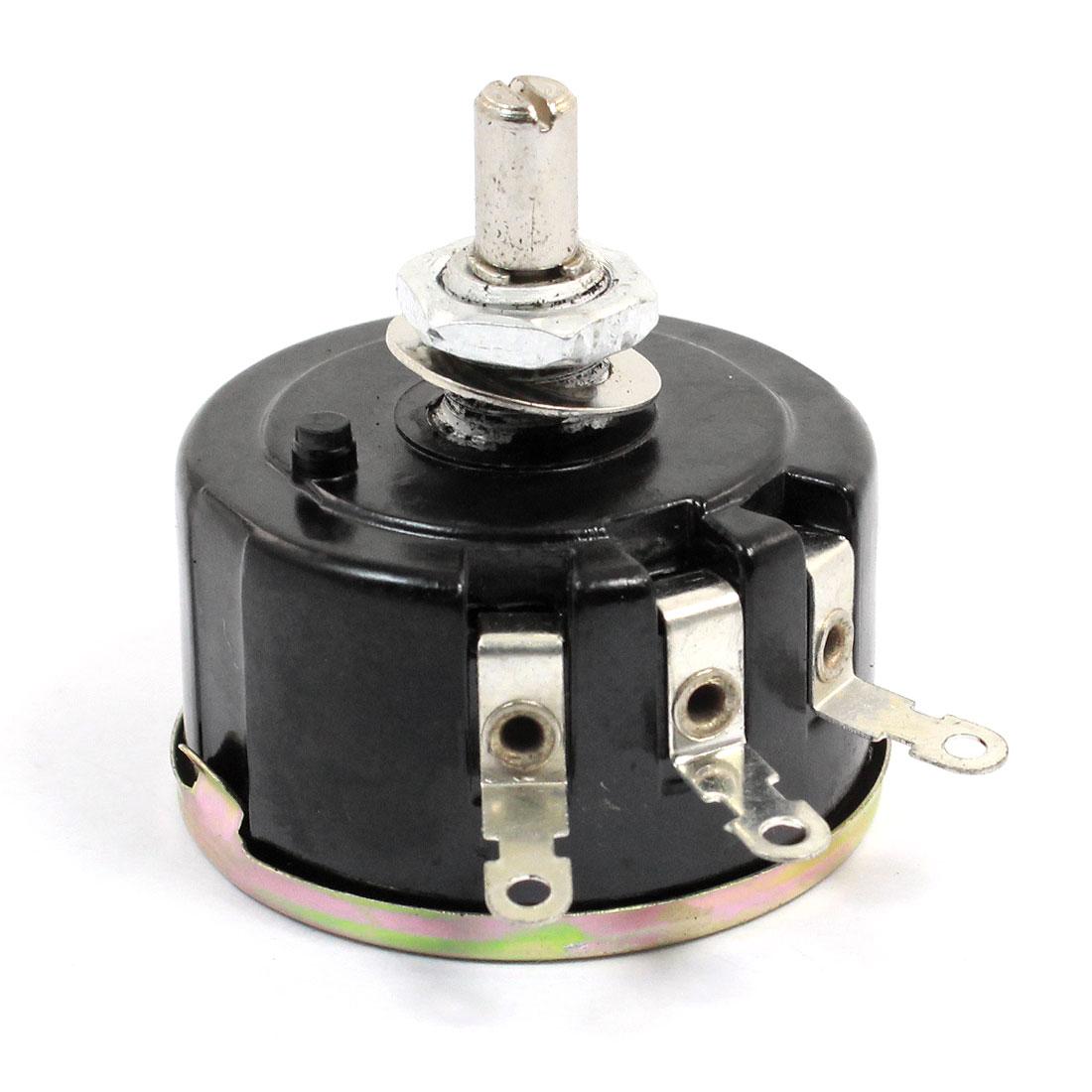 Full Size 100 Ohm 5W 5Watt Wire Wound Potentiometer Pot 42mm Body Diameter