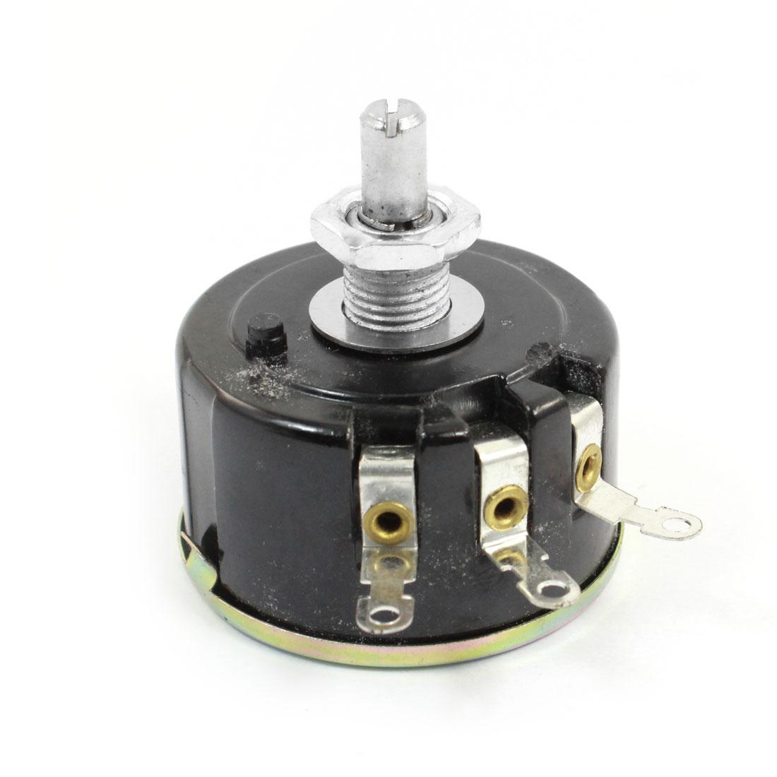 Full Size 1K Ohm 5W 5Watt Wire Wound Potentiometer Pot 42mm Body Diameter