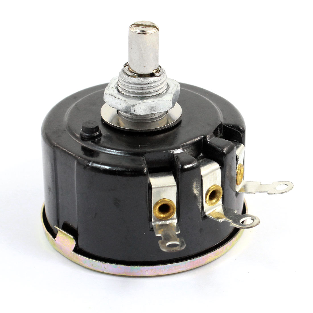 WX112 050 22K Ohm 5% 5W 6mm Round Shaft 3Pin Wirewound Variable Potentiometer