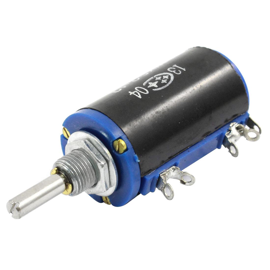 WXD3-13 2.2K Ohm 2W Rotary Wirewound Multiturn Taper Pot Potentiometer