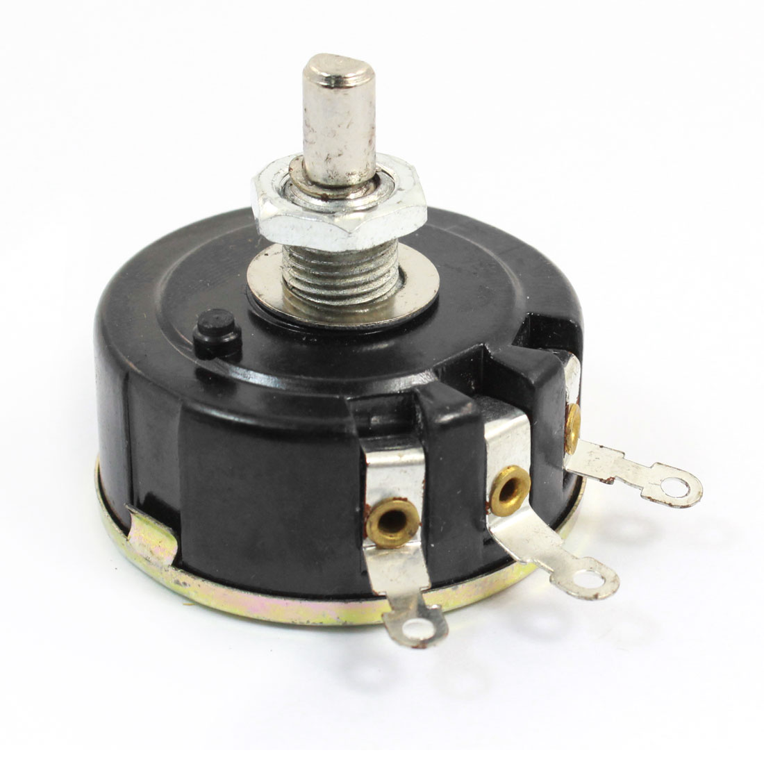 WX111 030 1.5K Ohm 5% 3W 6mm D Shaft 3Pin Wirewound Variable Resistor Potentiometer