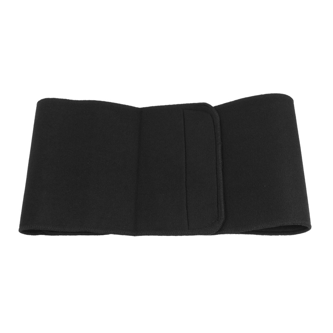 Compressive Neoprene Waist Support Brace Belt Black