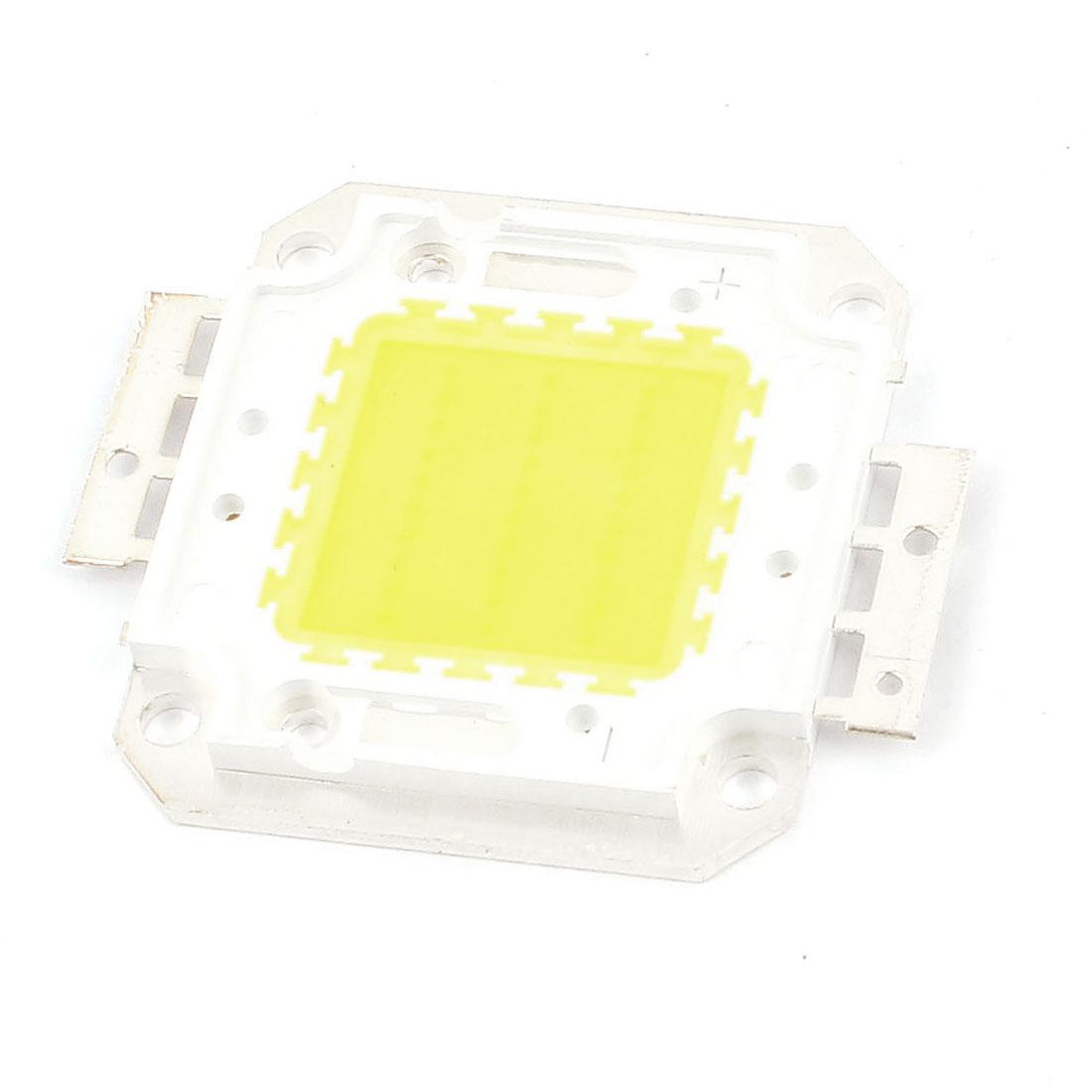 Square Shape White Light Lamp SMD COB LED Module Chip DC 30-36V 30W