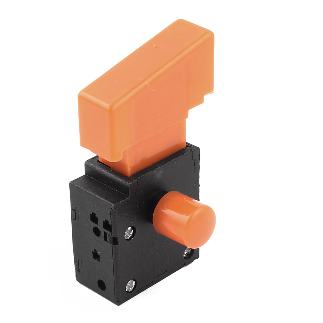 Replacement AC 250V 4A DPST Select Locking NO Normally Open Plastic Electric Tool Push Button Trigger Switch