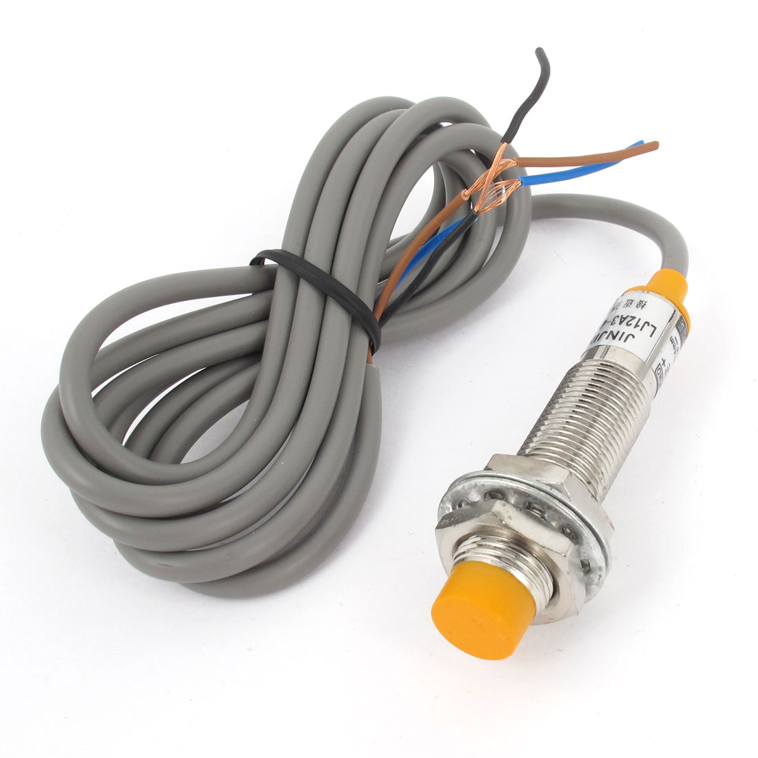 LJ12A3-4-Z/BY 4mm Approach NO Inductive Proximity Sensor Switch DC 6-36V