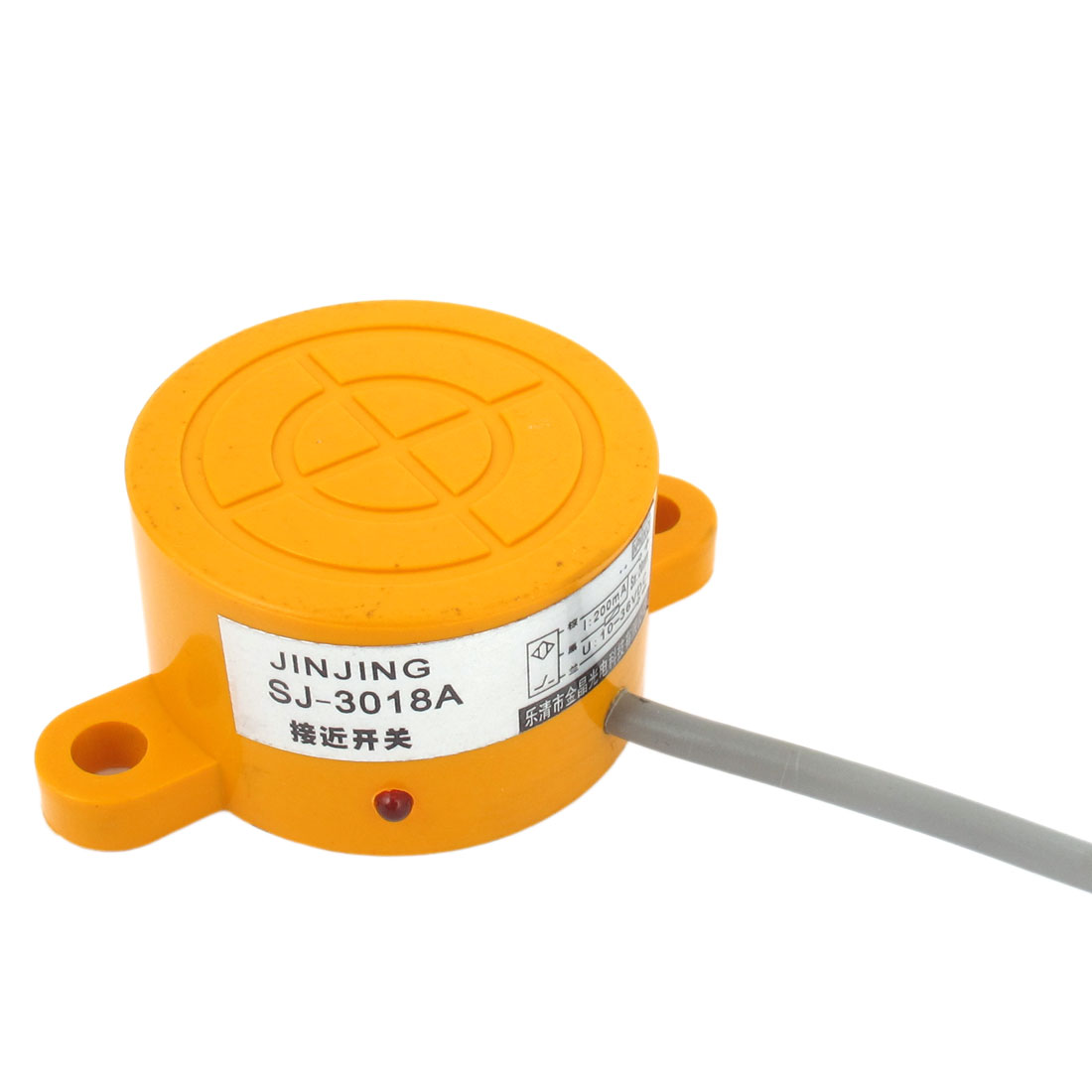 SJ-3018A Cylinder NPN 20mm Detection Inductive Sensor Proximity Switch