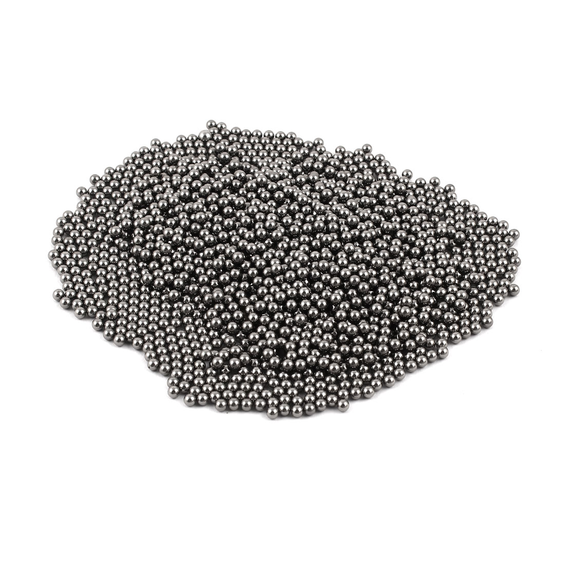 Bicycle Repair 3.5mm Diameter Silver Tone Steel Bearing Ball 1100 Pcs
