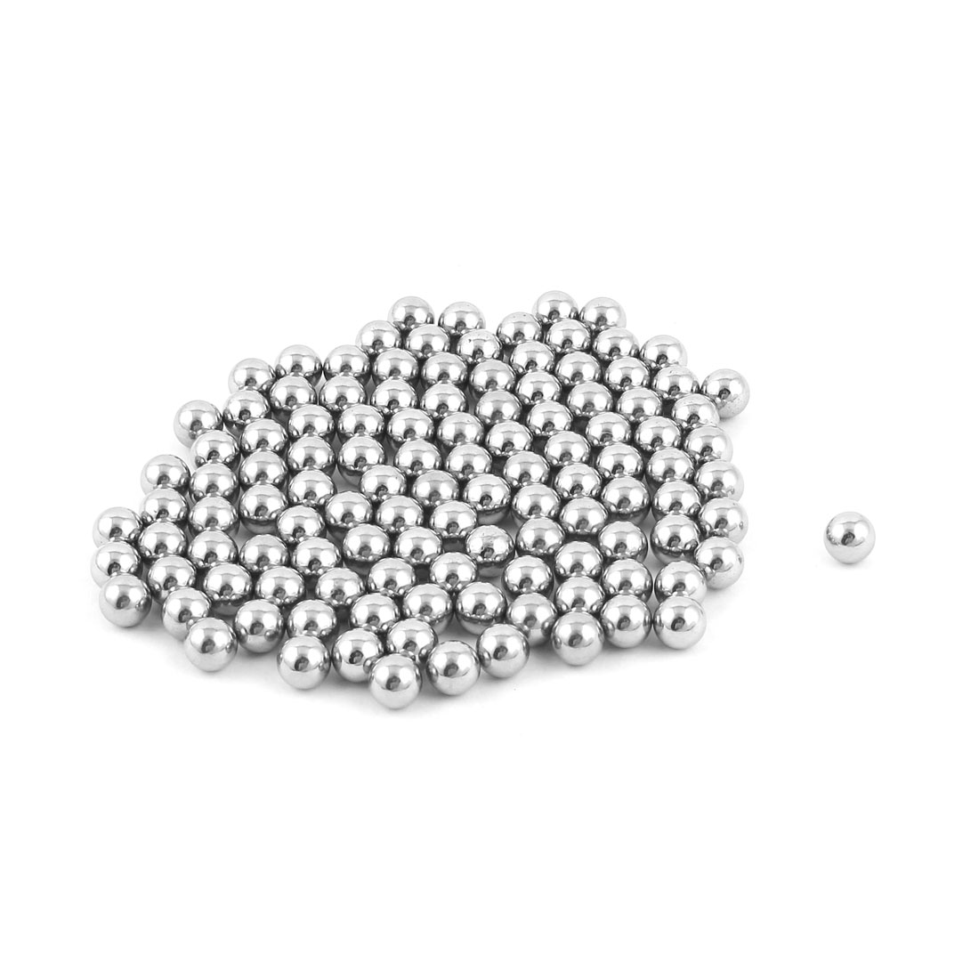 Bike Bicycle Wheel Bearing Steel Balls 7.5mm Diameter 100 Pcs