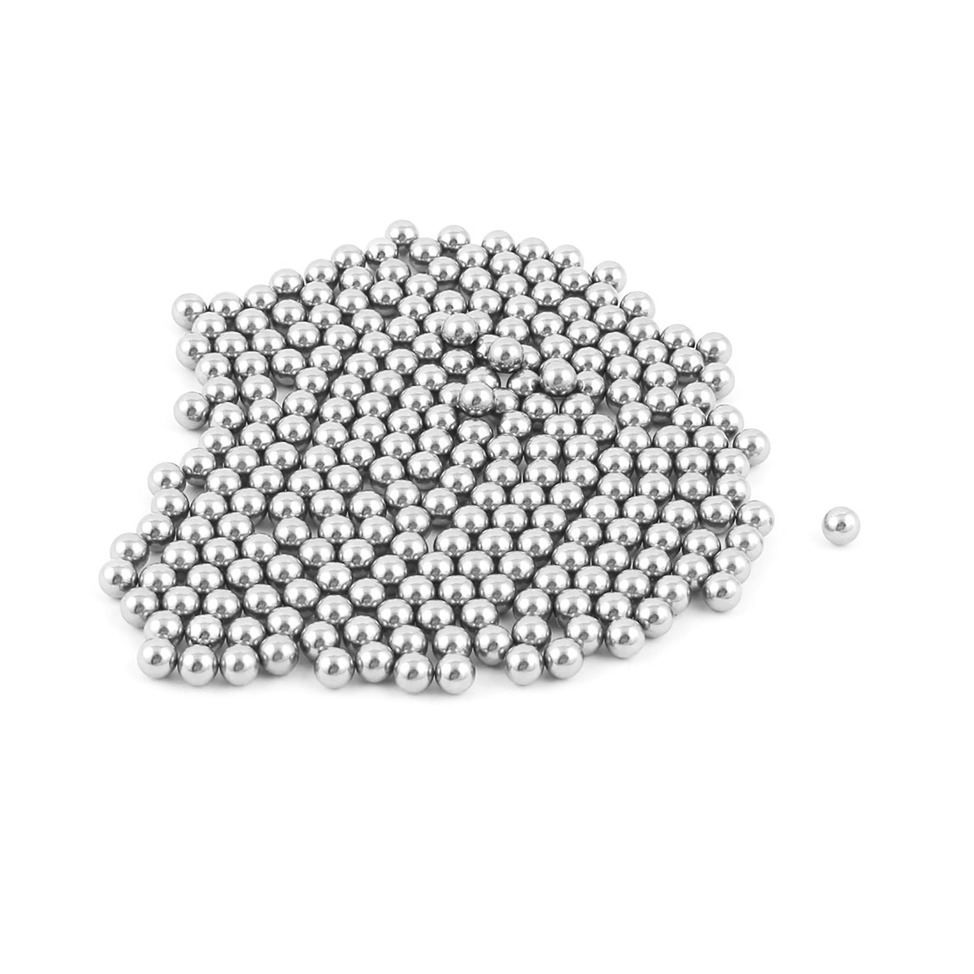 210 Pcs 6mm Diameter Bike Bicyle Steel Ball Bearings Parts