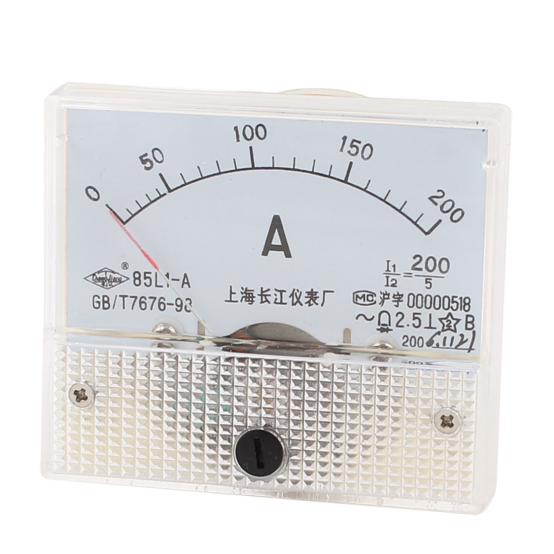 AC200A Analog Amperemeter Fine Tuning Dial Panel Meter Gauge 85L1-A