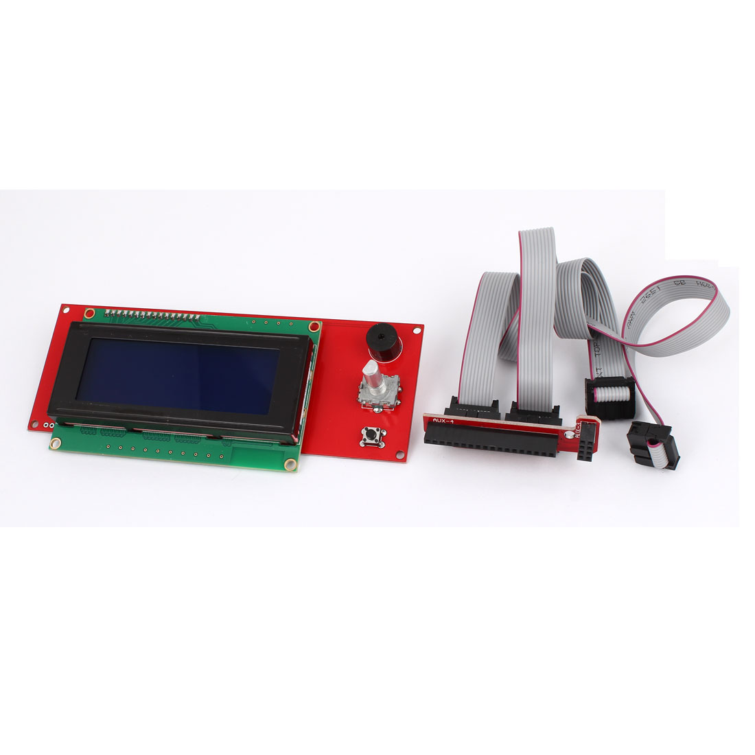 3D Printer Smart Controller Remps 1.4 2004LCD Control Board w FC-10P Flat Cable