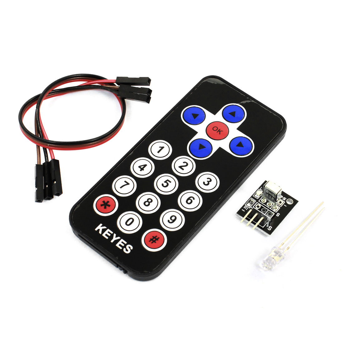 8M Distance Infrared Wireless Remote Control Kits for Arduino DIY Project