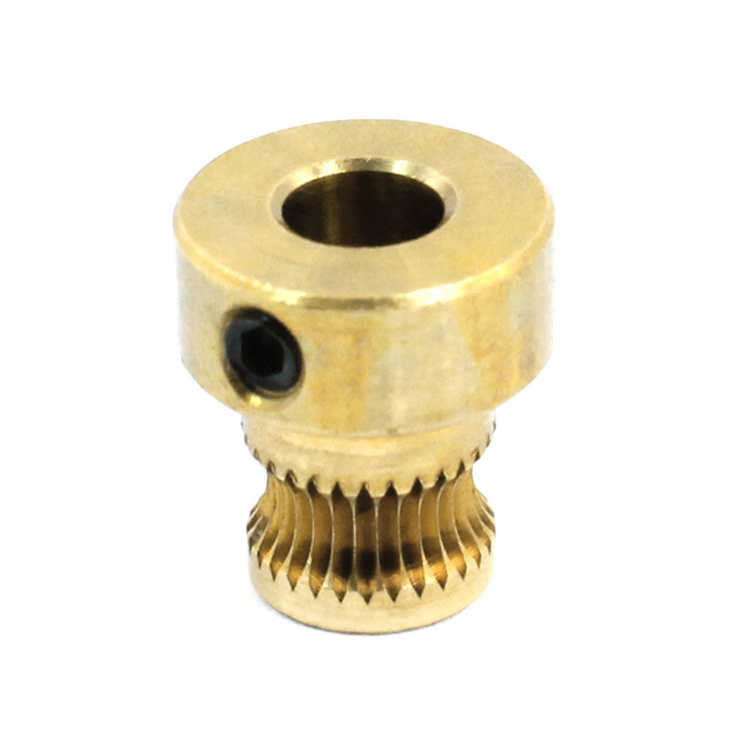 Brass 3D Printer Feedstock Extrusion Wire Wheel Extruder Gear