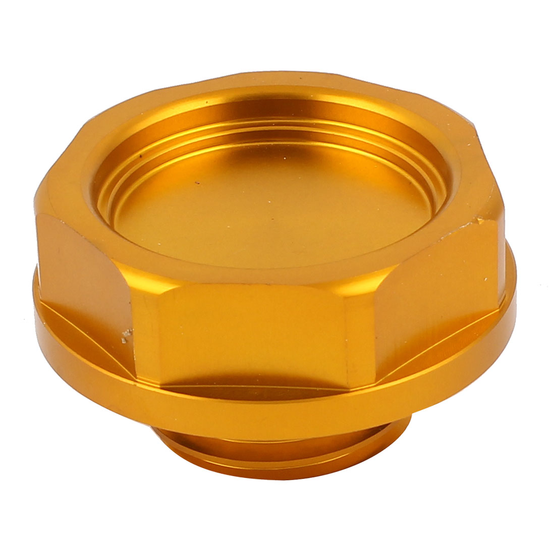 Vehicle Car Orange Metal Engine Oil Filler Fuel Cover Cap 56mm Dia for Honda