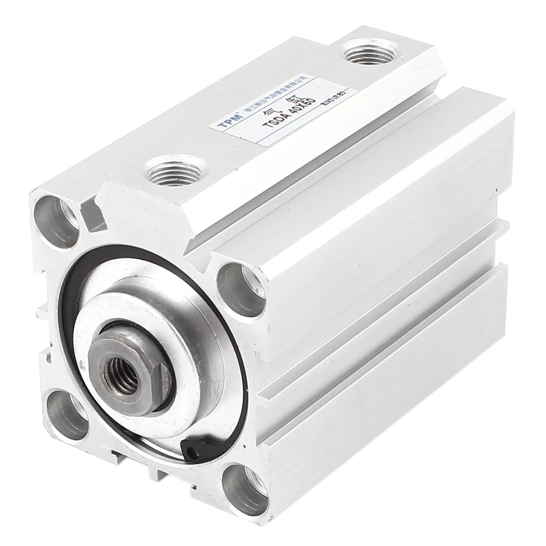Double Action 40mm Bore 60mm Stroke Compact Air Cylinder SDA40x60