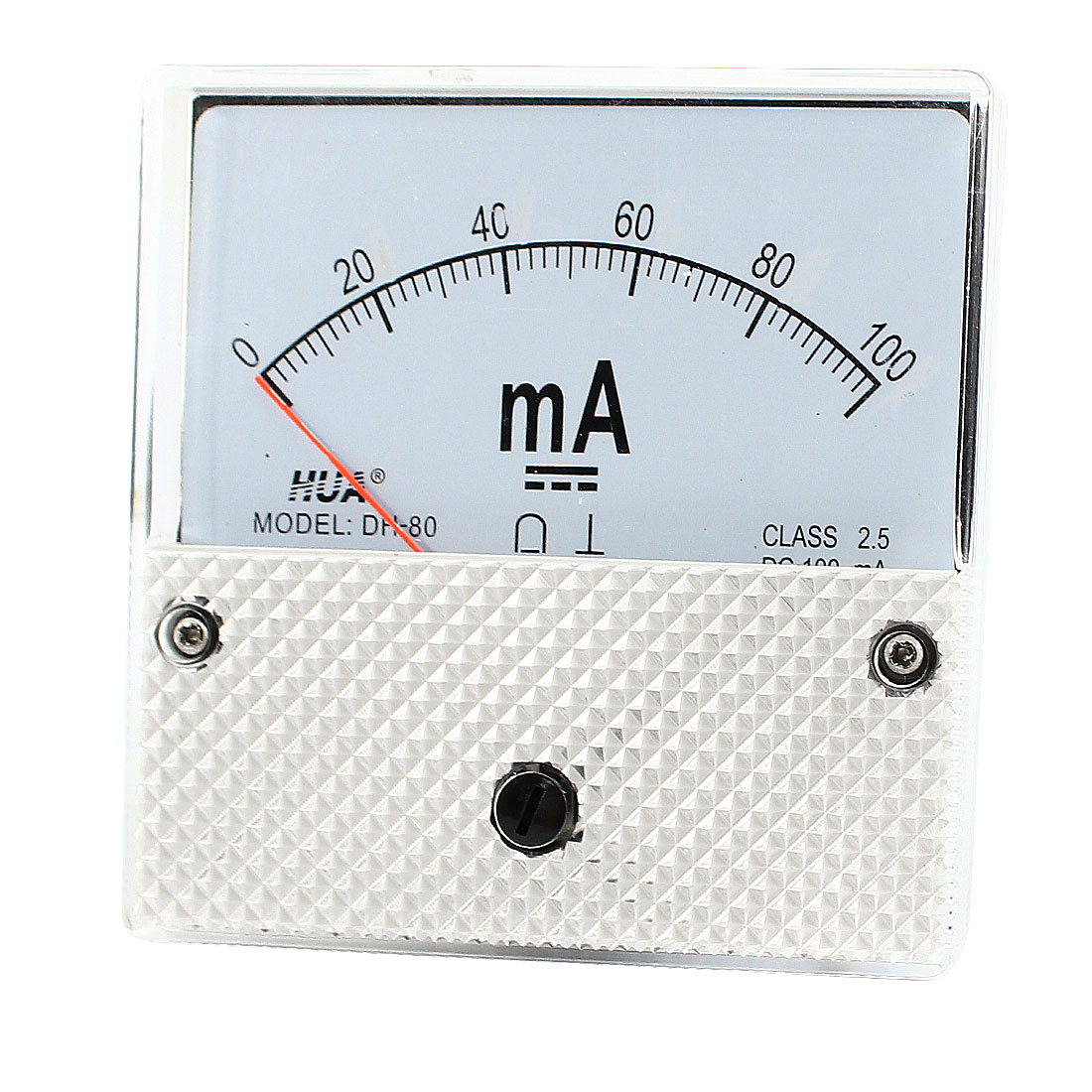 DC 0-100mA Current Measurement Analog Panel Meter Amperemeter Ammeter
