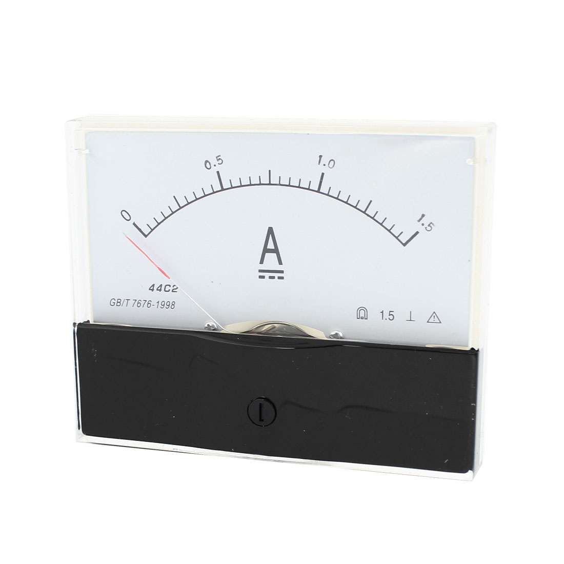 DC 0-1.5A Range Analogue Ampere Panel Meter Measurement Tool 44C2