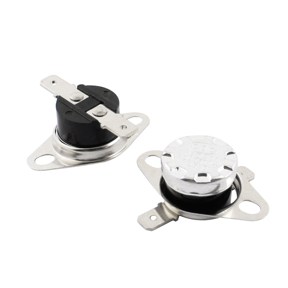 2Pcs KSD301 125C NC Temperature Control Switch Thermostat Protector AC 250V 10A