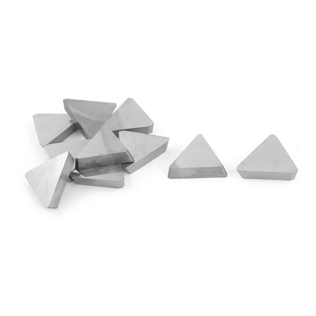 10pcs Milling Brazing Turning Lathe Tool Carbide Insert Tip YS25 TPCN2204EDR