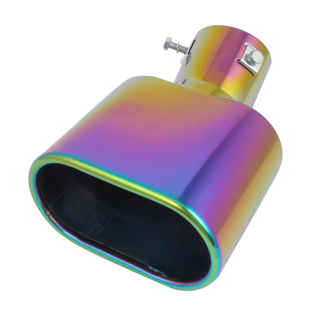 62mm Inlet Dia Colorful Stainless Steel Car Exhaust Muffler Pipe Tail Tip for Focus