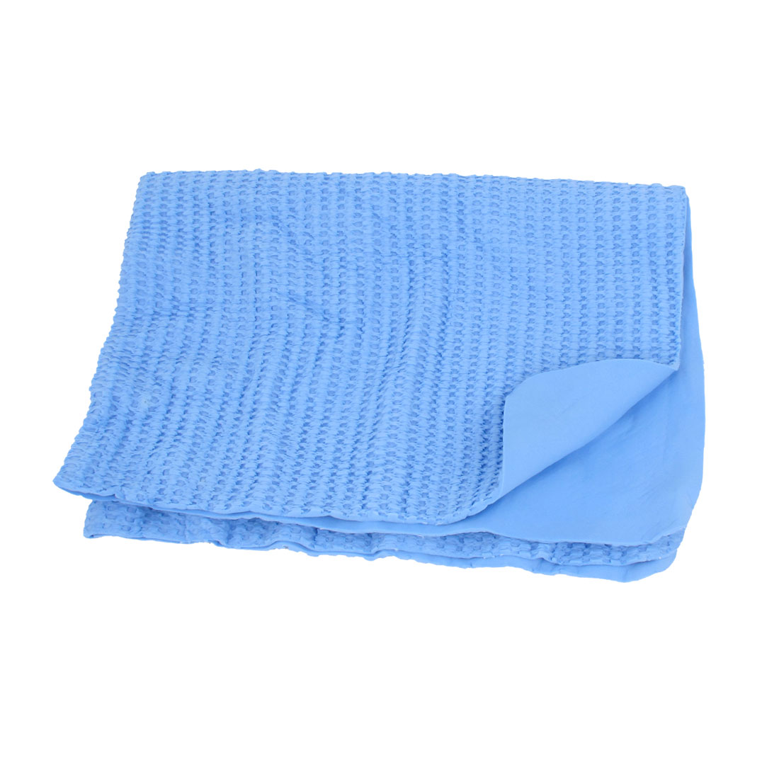 Blue Synthetic Chamois Clean Cham Towel Water Absorbing Power 43 x 32cm