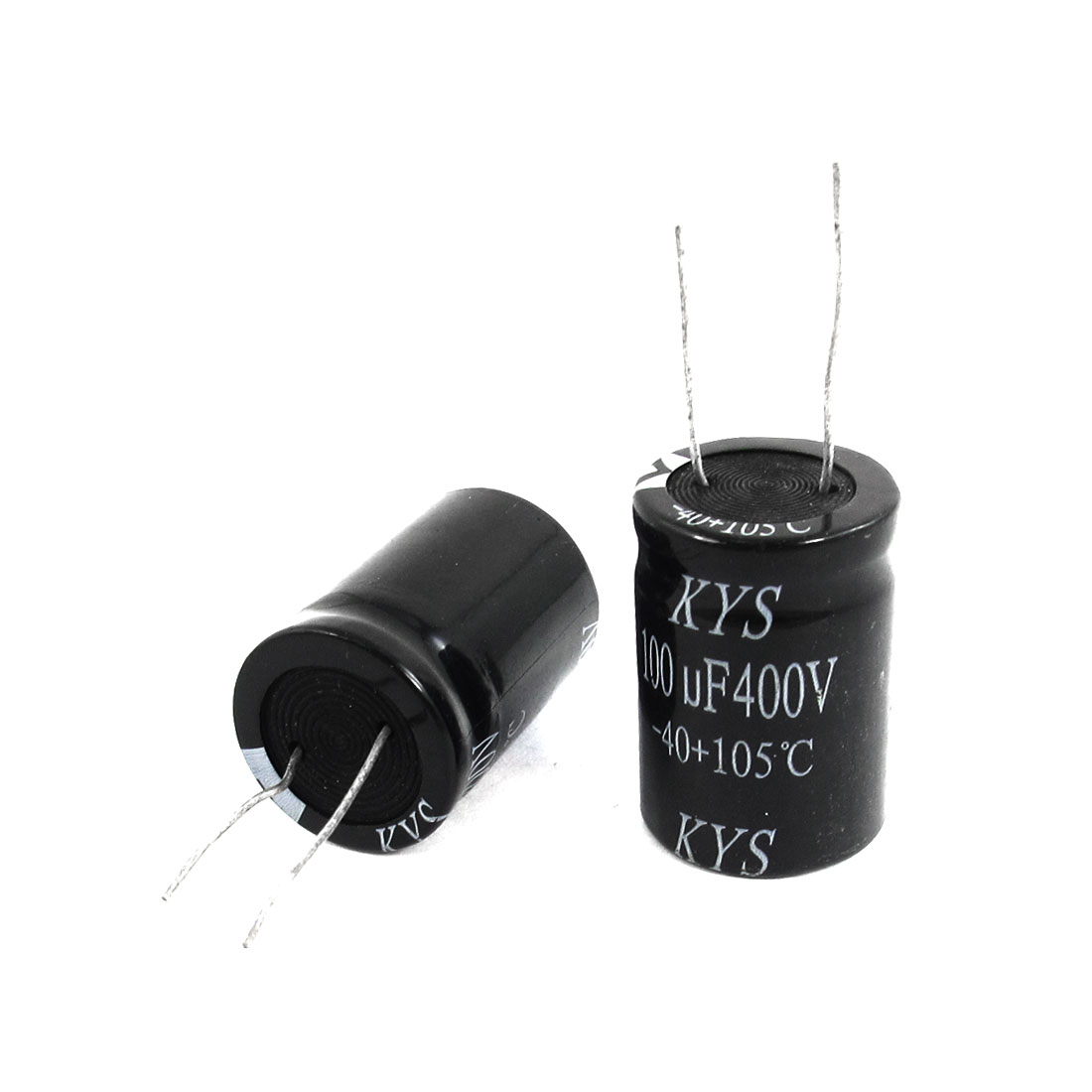 2pcs Electronic Component 100uF 400V 105C Electrolytic Capacitor 22x32mm