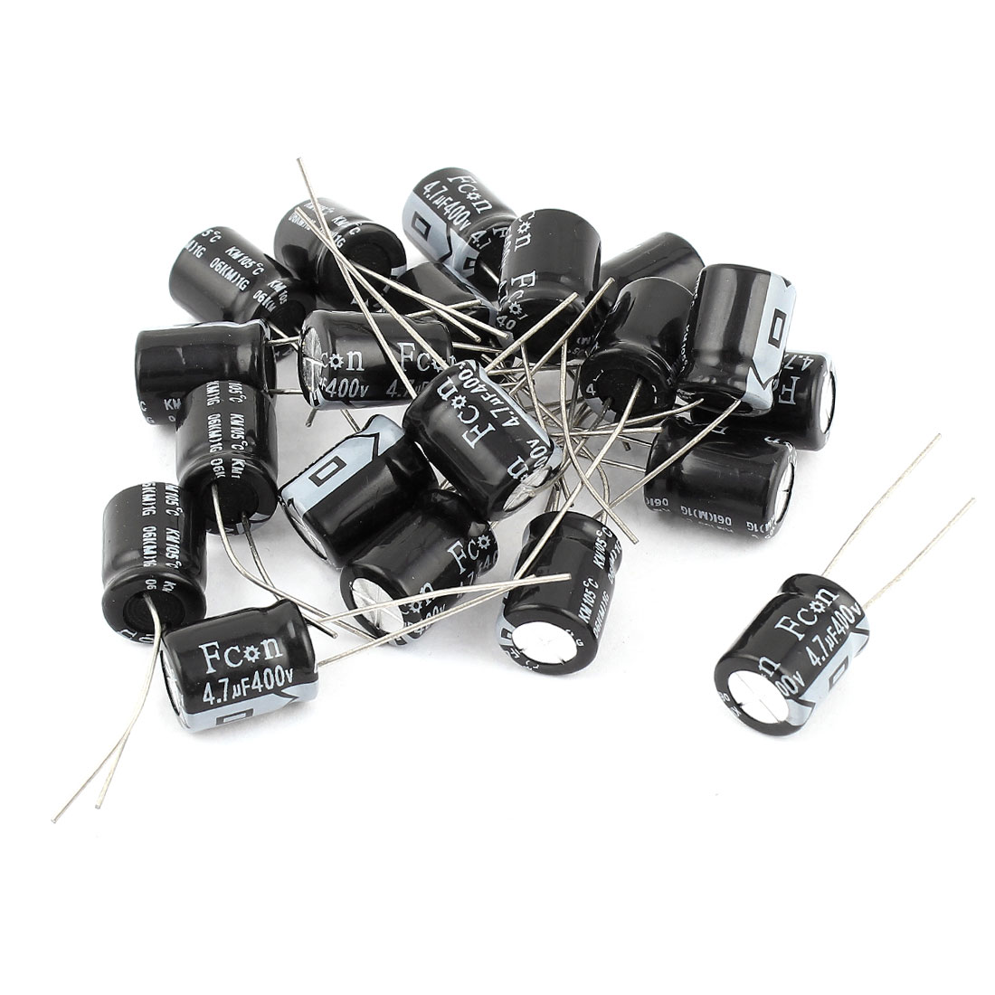 20PCS 4.7uF 400V 10x13mm Through Hole Radial Lead Aluminium Electrolytic Capacitor