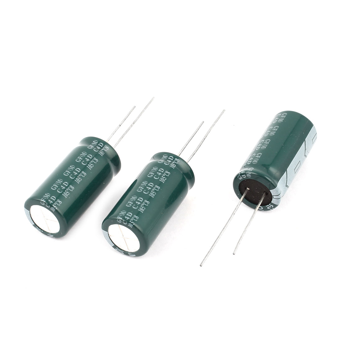 3PCS 1500uF 35V 13x26mm Through Hole Radial Lead Aluminium Electrolytic Capacitor