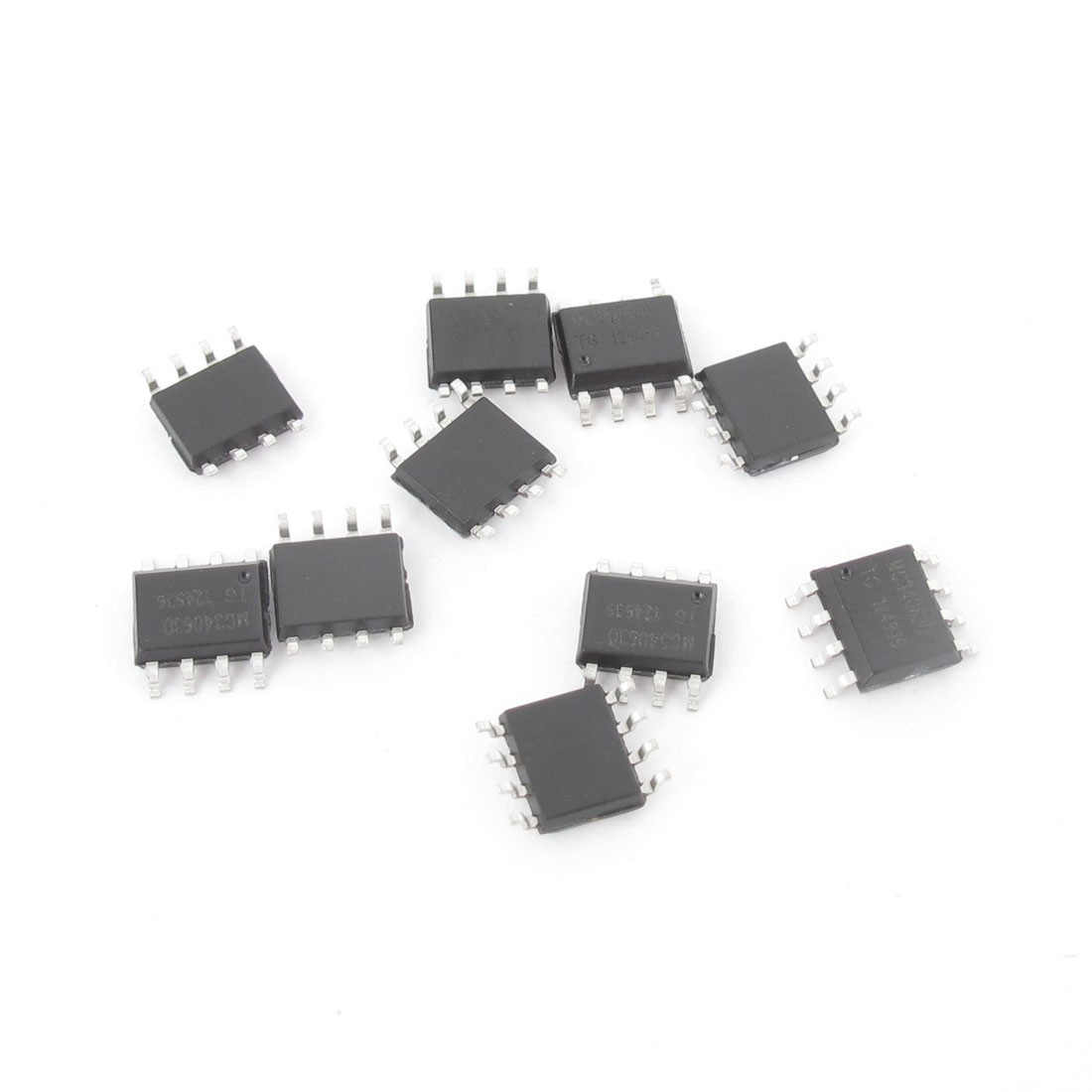 10 PCS MC34063D SOP-8 DC-to-DC Converter Control Circuits 1.5A for Voltage-Inverting Applications