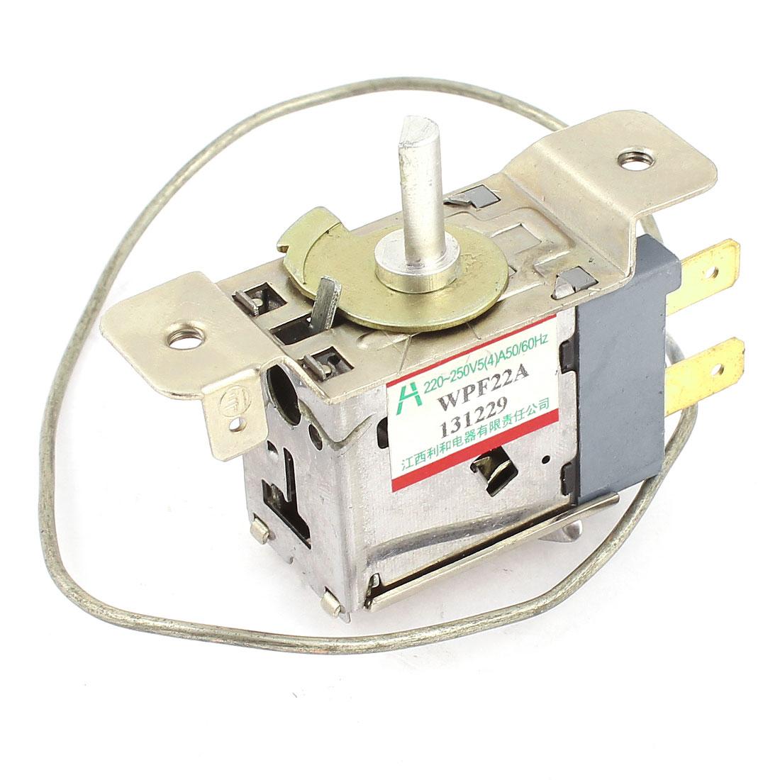 WPF22A AC 220-250V Refrigerator Refrigeration Thermostat w 30cm Metal Cord