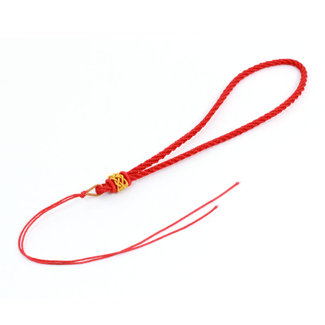 Red Braided Round Mobile Smart Cell Phone Hand Charm Strap String