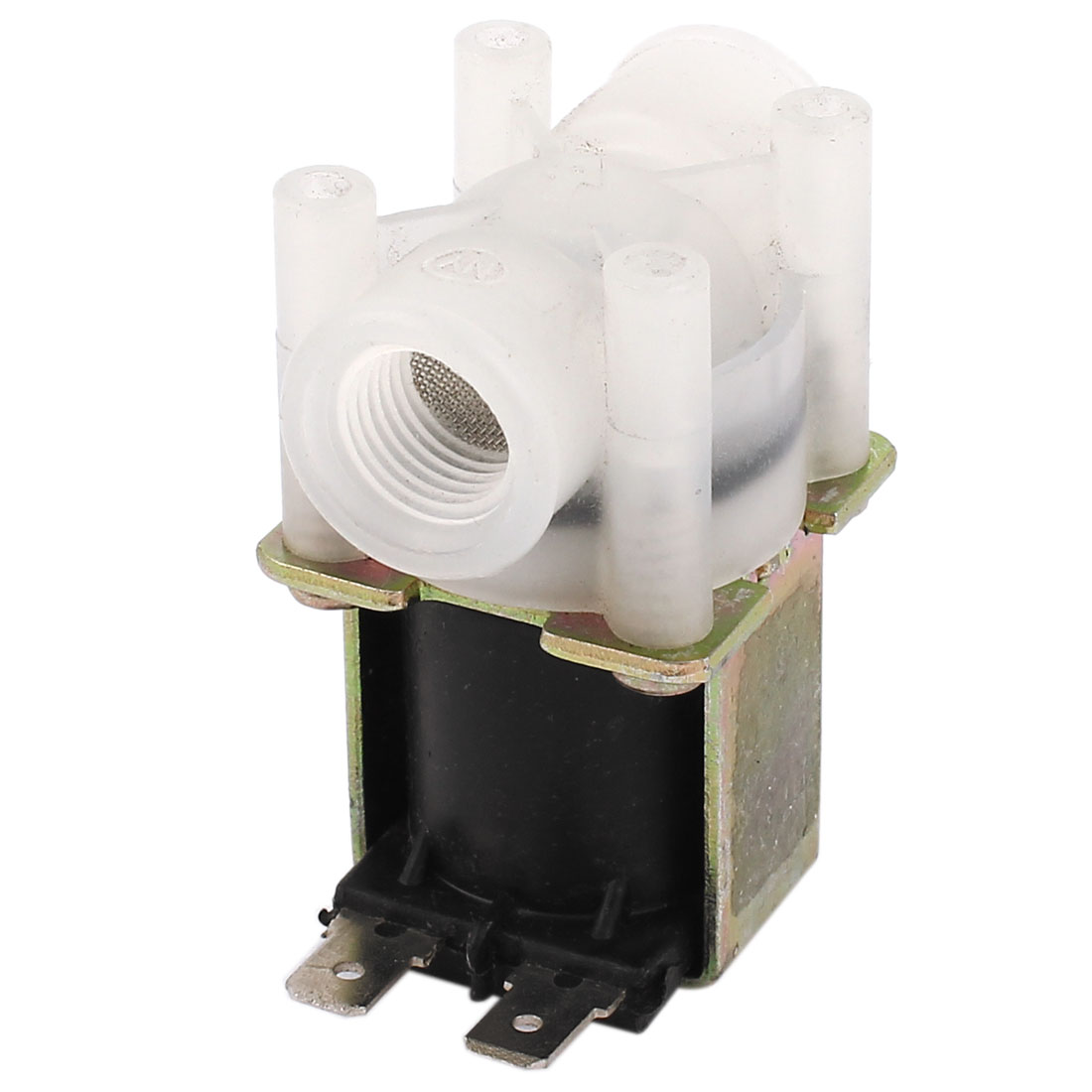 "DC 24V 1/4"" Female Thread Waste Water Flush Solenoid Valve RO System"