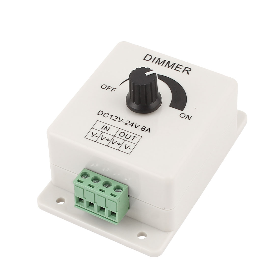 DC12V-24V 8A LED Switch Dimmer Cotroller for 3528 5050 LED Strip Single Color